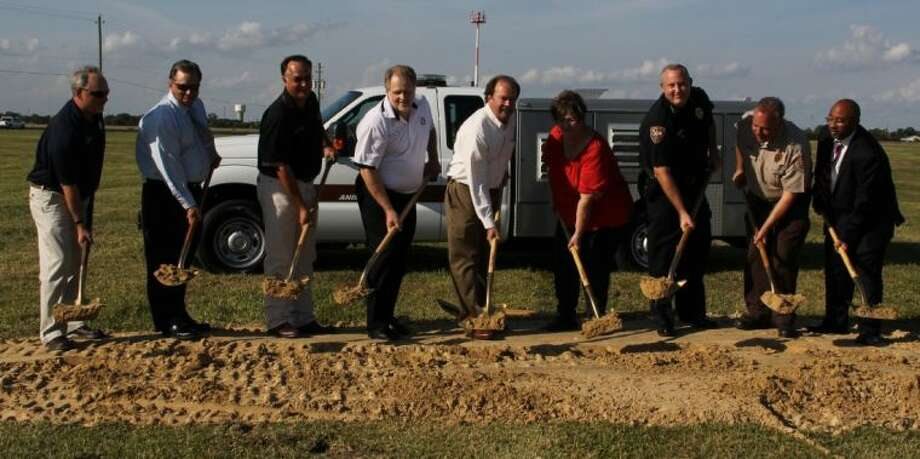On Monday, the City of La Porte broke ground on a planned new animal adoption and shelter located at Spencer. The facility will replace the existing building built in 1987. Photo: Y.C. OROZCO