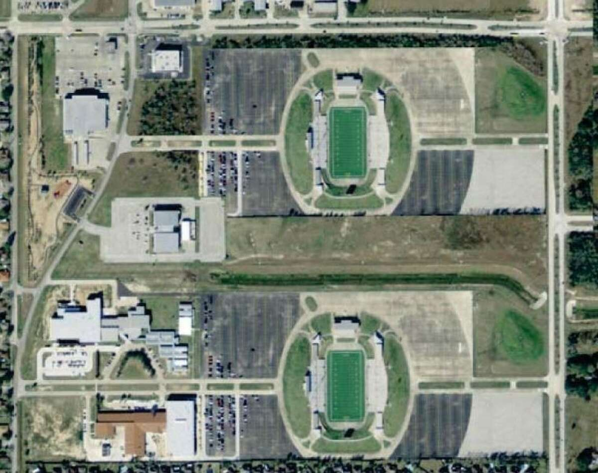 Katy ISD's proposed second stadium would have been built just north of Rhodes Stadium.