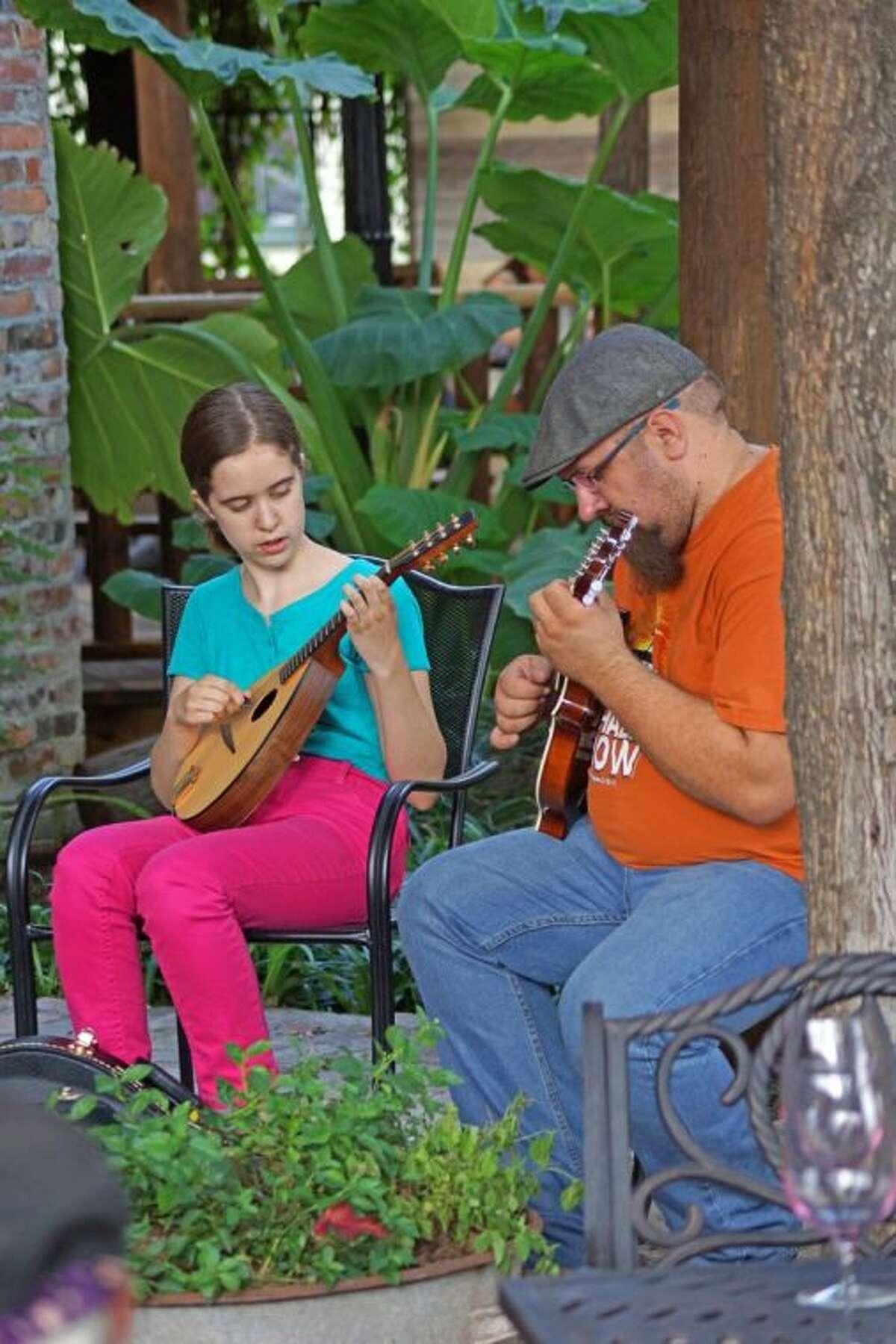 Local Bluegrass musicians take part in