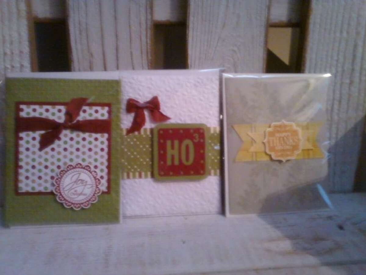 A Creative Card Making class will be held at the Kingwood Community Center Nov. 12. Participants will create four Thanksgiving cards and four Christmas cards in the two hour class from 1-3 p.m.