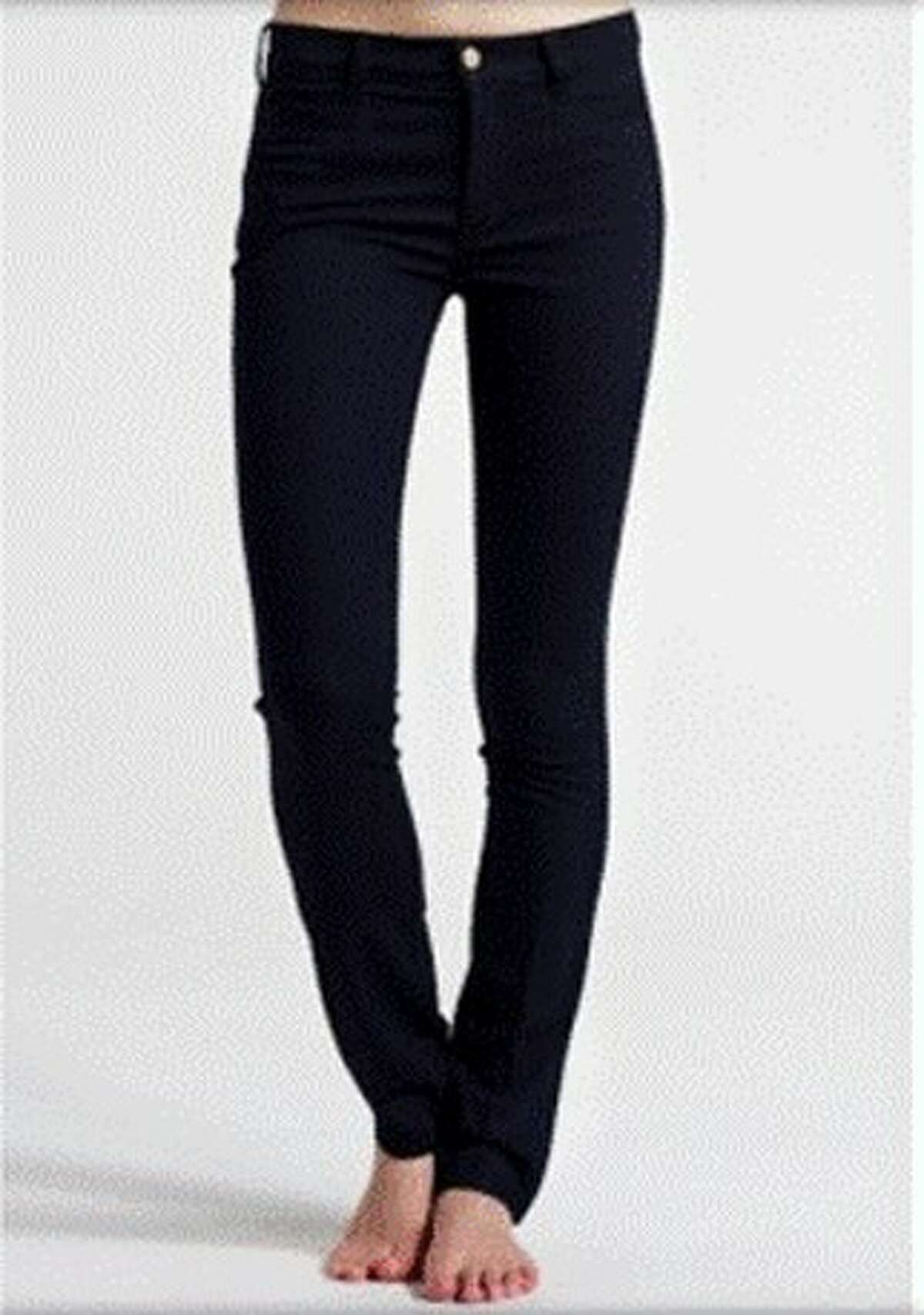 Skinny jeans are here to stay. If you are looking for your first pair, start with a dark wash, and it should be snug from ankle to the waist. Skinny jeans are also worn shorter; the hem should sit at your ankles.