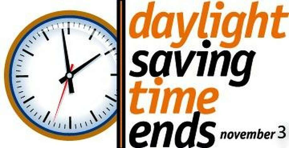 Don't forget to set clocks back