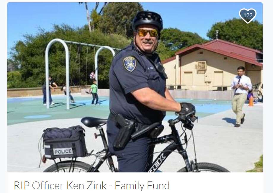 San Pablo police officer Ken Zink died in a motorcycle crash in Vallejo on Thursday, Sept. 29, 2016. Photo: Gofundme.com