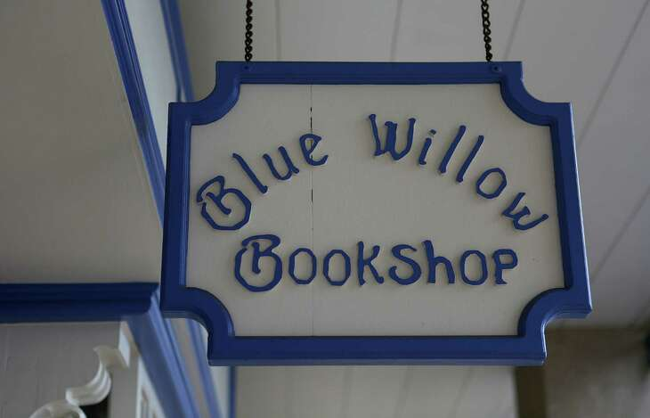 Valerie Koehler, owner of Blue Willow Bookshop on Memorial Drive, is preparing to celebrate 20 years of business, Monday, Sept. 19, 2016, in Houston.( Mark Mulligan / Houston Chronicle )