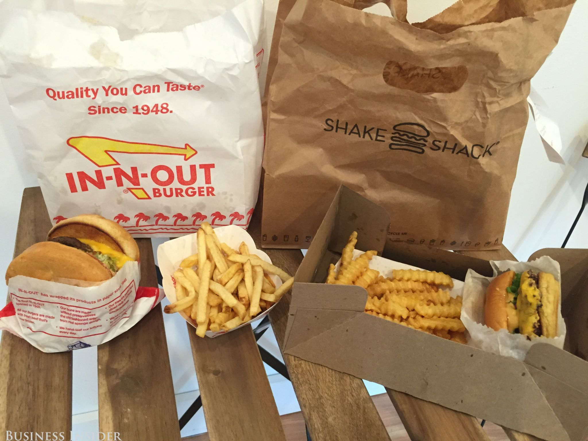 I tried Shake Shack and In-N-Out side by side — and it\'s clear which ...