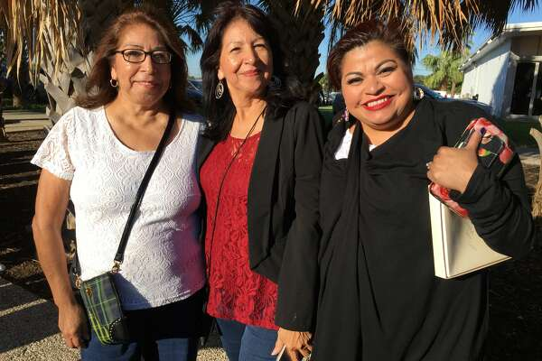 Fans came out for the launch of the Selena MAC makeup collection in Corpus Christi, Friday, Sept 30, 2016.