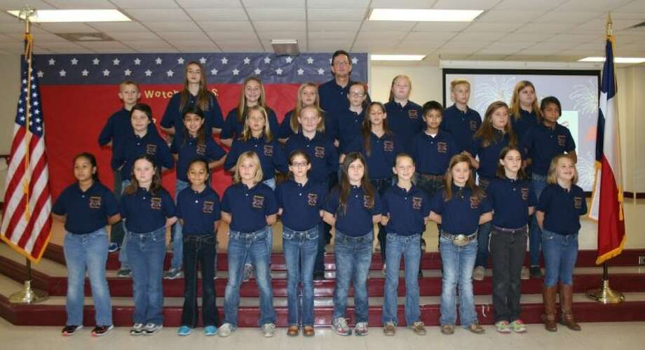 The Greenleaf Elementary Flag Corps is believed to be one of the only elementary flag corps within the nation, according to school officials. Under the direction of Greenleaf Vice Principal Robert Davis, the students gave a presentation for Veterans Day in the school cafeteria.