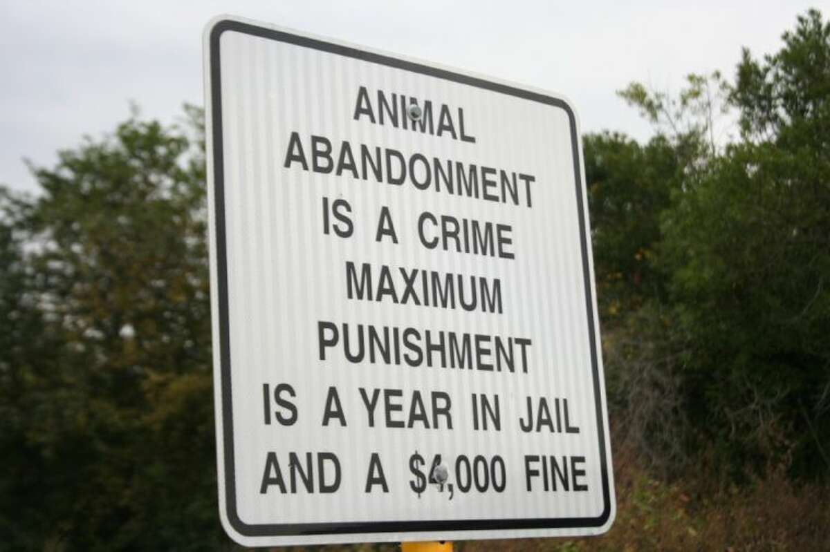 The Harris County District Attorney is cracking down on animal abandonment and cruelty in Crosby.