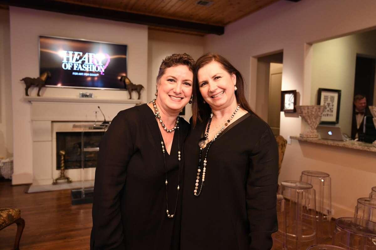 Tamara Bonar and Sylvia Forsythe