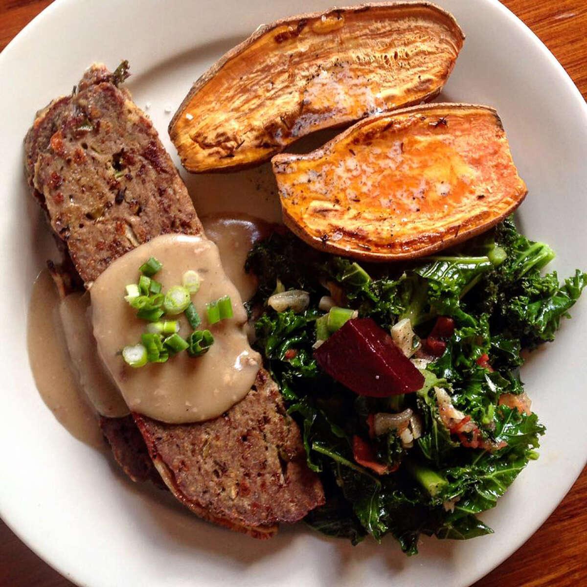 Meatlof at ADK Cafe in Keene.