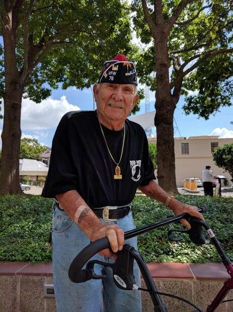 Thomas Fajardo, Korean War veteran. Photo: J.p. Lawrence / San Antonio Express News