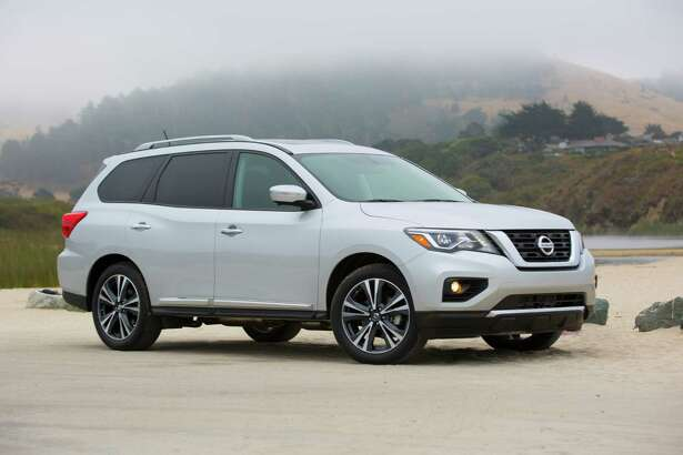 Refreshed for 2017, the seven-passenger Pathfinder is bolder, more aerodynamic and safety features such as adaptive cruise control and forward emergency braking are available or standard.