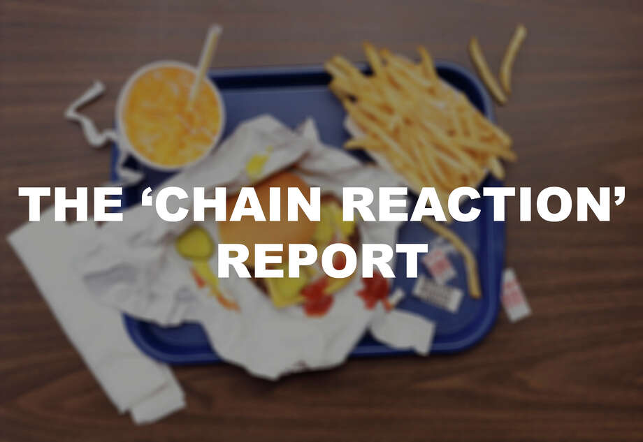 "The ""Chain Reaction"" report, developed by Friends of the Earth, the Natural Resources Defense Council and other partner organizations, graded the top fast food restaurants for use of antibiotics in their meat and poultry supply chains to find out who is putting consumers' health at risk. Here are their results from the 2016 report card. Photo: Digital Vision./Getty Images"