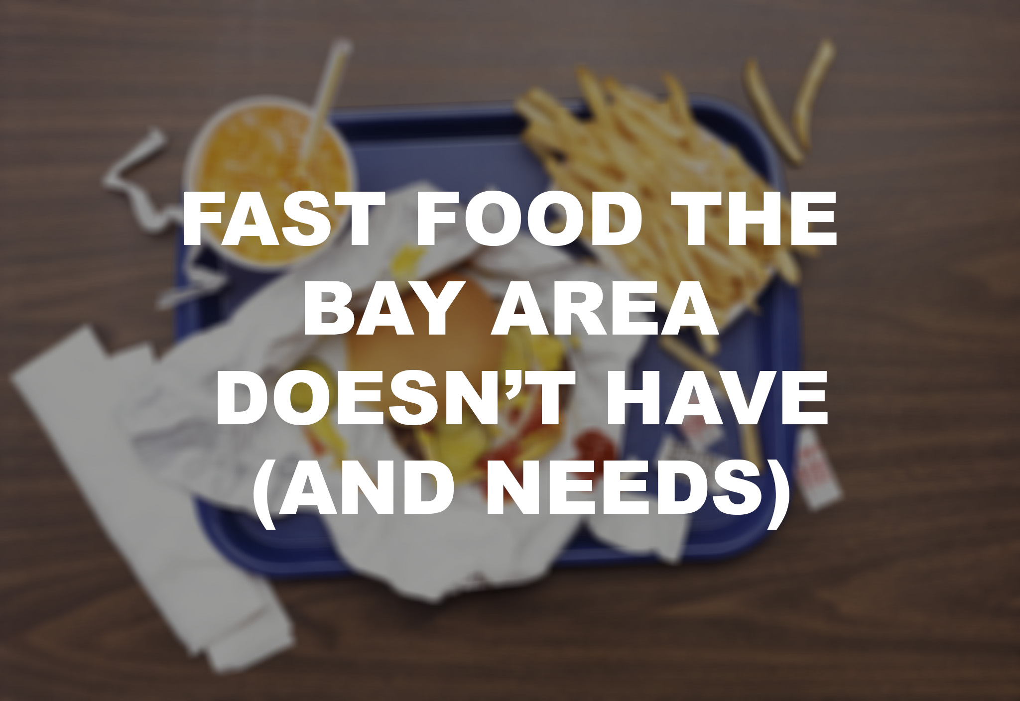 New Fast Food Item Announcements