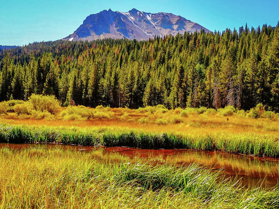 Hat Creek Meadow, Lassen Volcanic National Park, Sept. 25, 2016. Photo: Shandra Ochs / CaliforniaFallColor.com