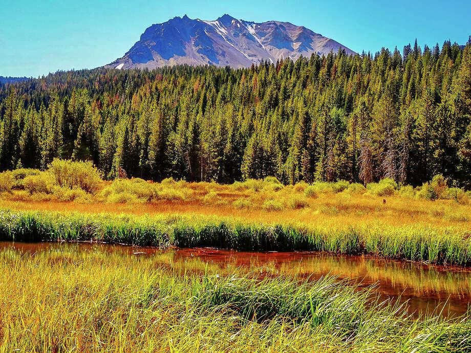 Hat Creek Meadow, Lassen Volcanic National Park, Sept. 25, 2016. Photo: Shandra Ochs / CaliforniaFallColor.com