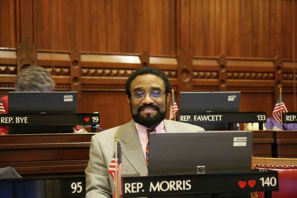 State Rep. Bruce Morris, D-0Norwalk, is the chairman of the legislative Black and Puerto Rican Caucus