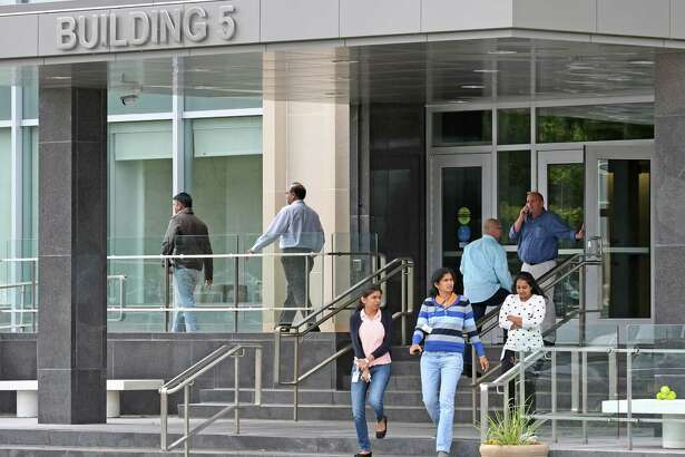 Building 5 of the Harriman Campus which houses the New York State Office of Information Technology Services on Friday, Sept. 30, 2016, in Albany, N.Y. (Michael P. Farrell/Times Union)