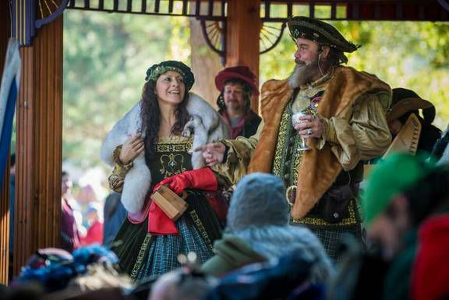 The King and Queen of The Texas Renaissance Festival. This week the City of Conroe approved $40,000 to promote upcoming events, including the Texas Renaissance Festival. Photo: Photo By Steven David