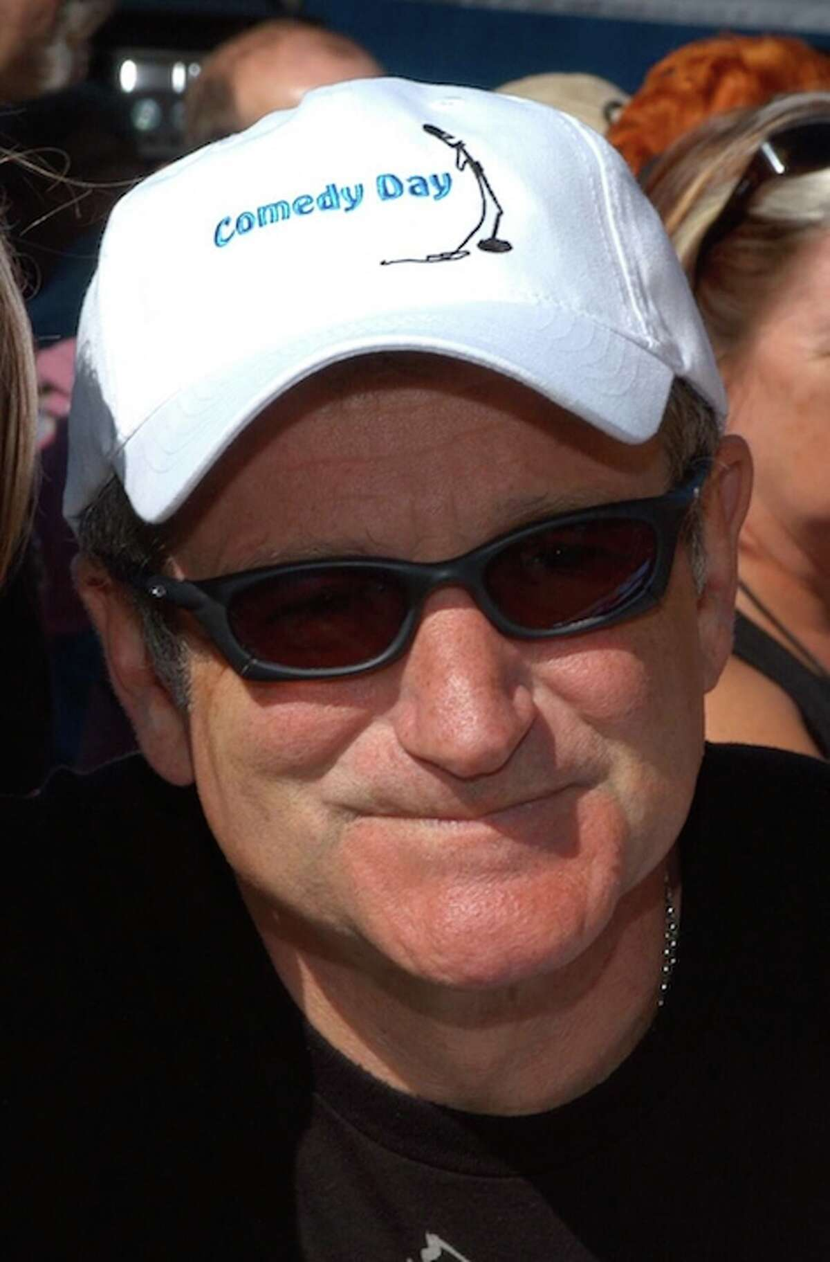 Robin Williams at Comedy Day.