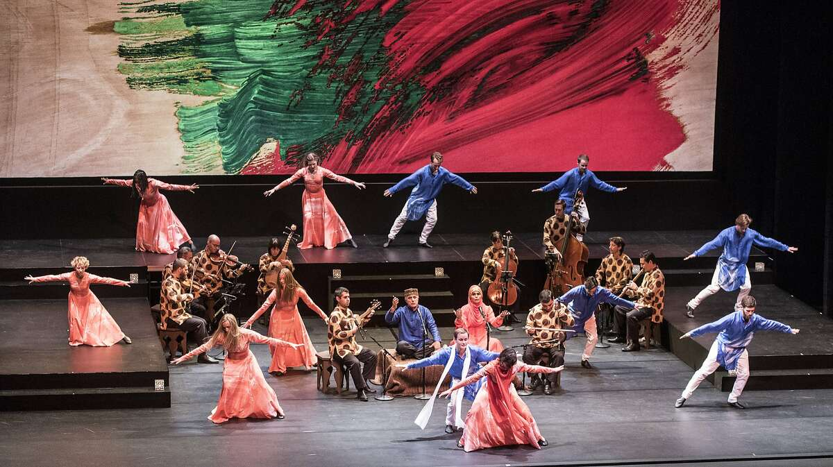 """Mark Morris Dance Group and The Silk Road Ensemble perform the world premiere of """"Layla and Majnun""""� Cal Performances' Zellerbach Hall"""