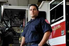 Danbury Firefighter Gabriel Rivera, 40, is this year's winner of the Danbury Fire Department's Bravery Award. Photo Friday, Sept. 30, 2016