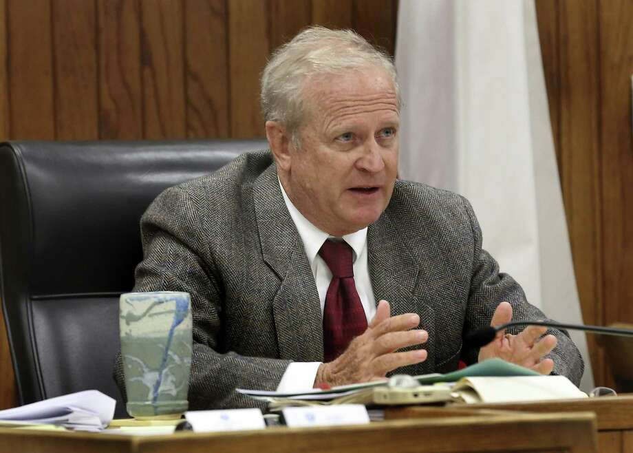 A spat between probate judges and Bexar County commissioners over funding could have been avoided if Probate Court Judge Tom Rickhoff (above) simply begins hearing mental health cases again. Photo: Bob Owen /San Antonio Express-News / ©2015 San Antonio Express-News