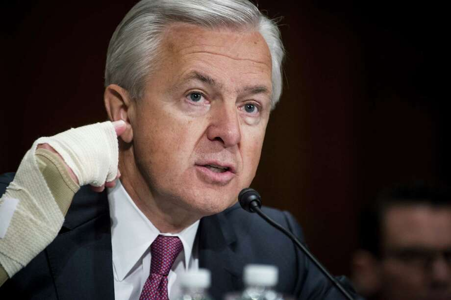 John Stumpf, chief executive officer of Wells Fargo, testifies before a Senate committee, which grilled him about bank employees who opened unauthorized accounts for customers. Managers at Wells Fargo should have realized the havoc their incentives and policies were bound to create. Now, the company must work on improving its culture, as this was clearly a widespread problem and not a case of a few rogue workers. Photo: Pete Marovich / Bloomberg News / © 2016 Bloomberg Finance LP