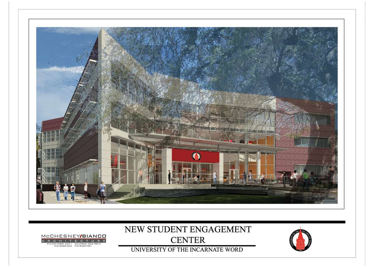 The UIW Student Engagement Center, set to open summer 2017, will feature $35 million worth of upgrades.