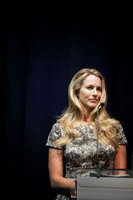 Laurene Powell Jobs, the founder of Emerson Collective and widow of Apple's co-founder, said Friday that Emerson had taken a substantial minority stake in Anonymous Content, a production company that will use the investment to compel social change. Photo: William Widmer /New York Times / NYTNS