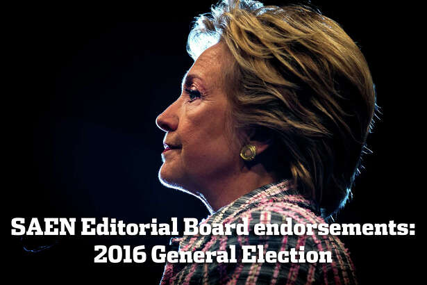 Hillary Clinton is the only logical choice in this presidential election. She is head and shoulders better than Donald Trump. Clinton has a firm grasp of geopolitical issues, from Iran and North Korean nukes to Syria to Russian and Chinese aggressions. She has experience working on international issues. The Express-News Editorial Board urges voters to cast ballots for her.