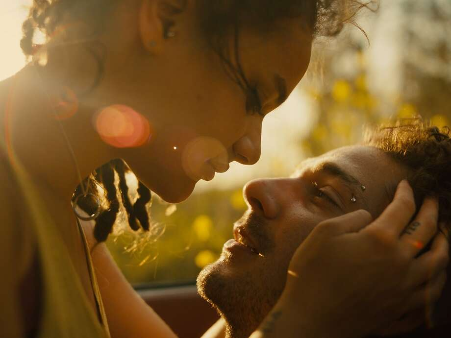 "Sasha Lane, left, and Shia LaBeouf in ""American Honey, which Lane also directed. Photo: A24"