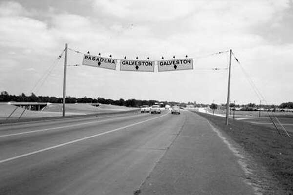 US 75, now I-45, in Houston
