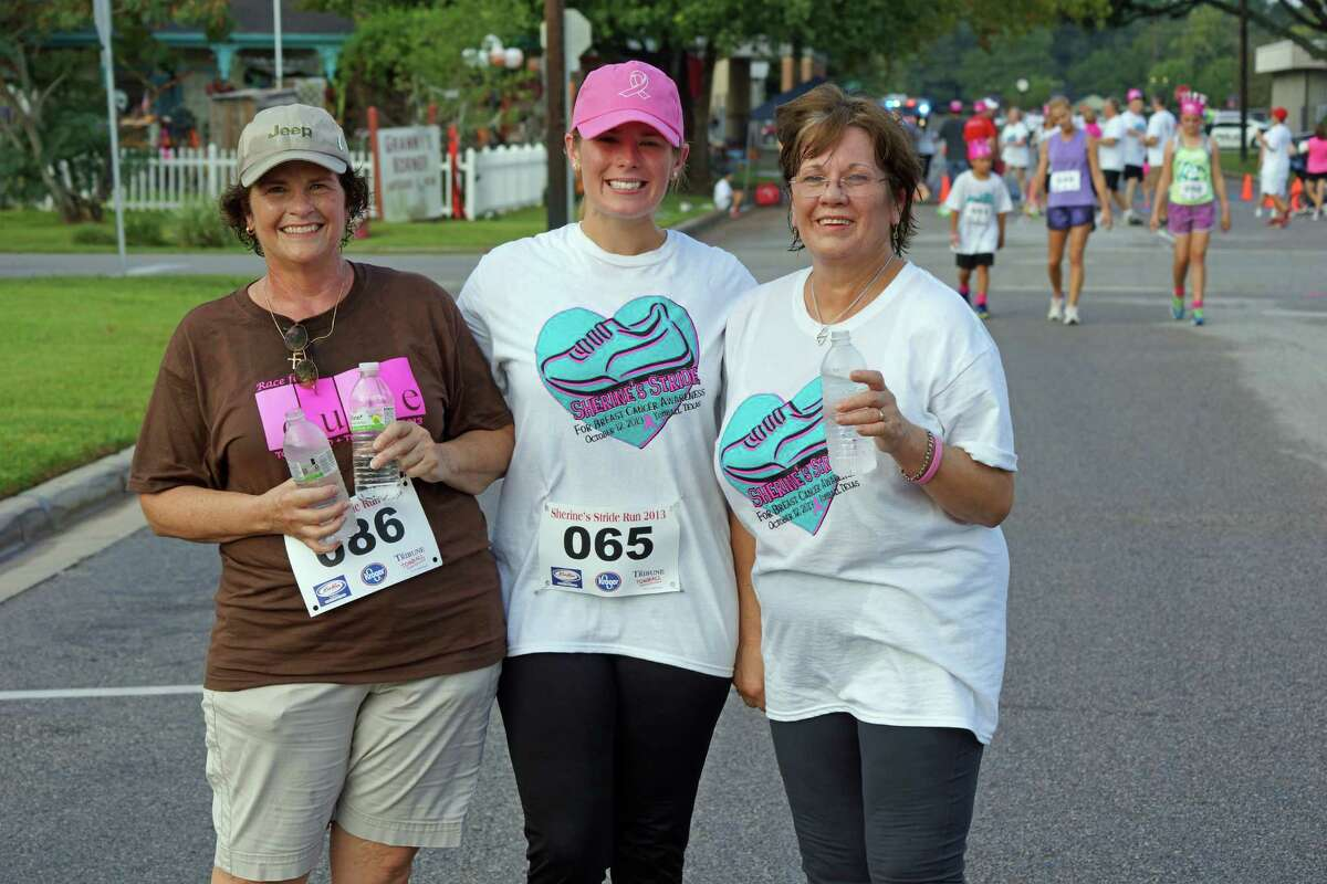 Tomball�'s signature breast cancer run went by a new name this year.Paces 4 Pink, formerly Sher ine�'s Stride, was held Oct. 1 at Tomball's Depot Plaza. It was renamed to reduce confusion after some participants mistak enly assumed that proceeds of the run benefitted Sherine, who passed away four years ago.