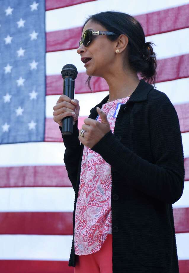 State House candidate Dita Bhargava Photo: Tyler Sizemore / Hearst Connecticut Media / Greenwich Time
