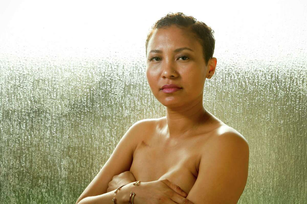 """""""Everyone has life happen to them,"""" says Tylithia Burks,who was just 33 when she found a lump in her breast. """"If you let it take you down, what are you living for?"""""""