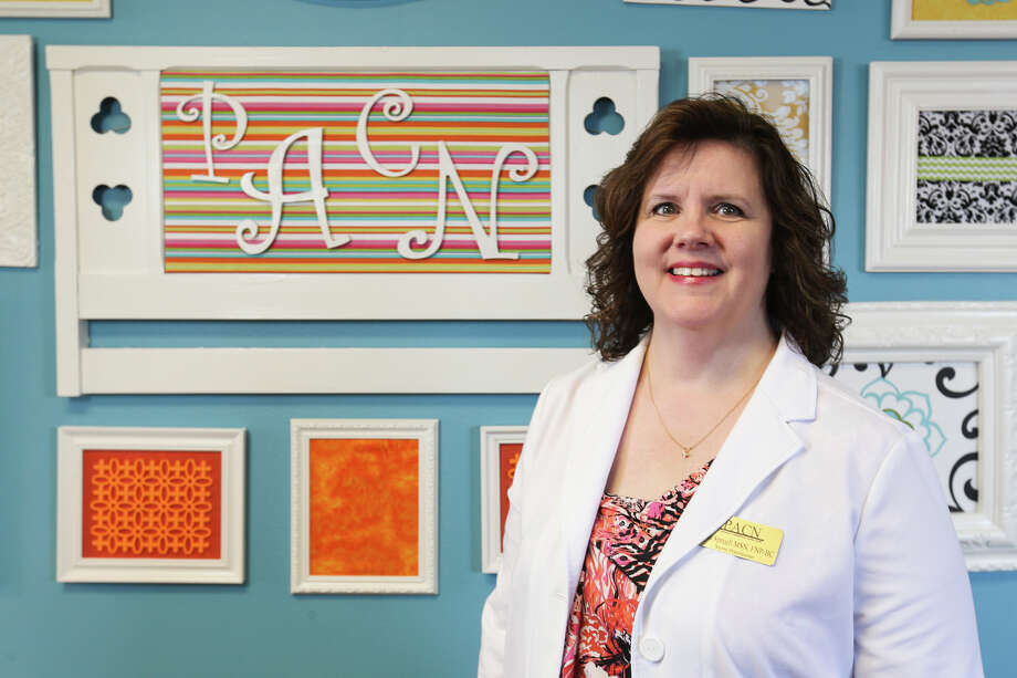 Tina Spruell, nurse practitioner for Pregnancy Assistance Center North, poses for a photo on Sept. 19 at PACN in Spring. Photo: Michael Minasi, Photographer / Copyright 2016 Michael Minasi
