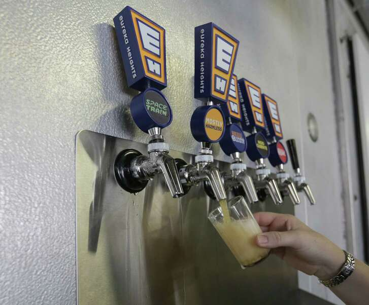 Eureka Heights Brewery in Heights neighborhood opened for business three weeks ago, photographed on Friday, Aug. 26, 2016, in Houston. ( Elizabeth Conley / Houston Chronicle )