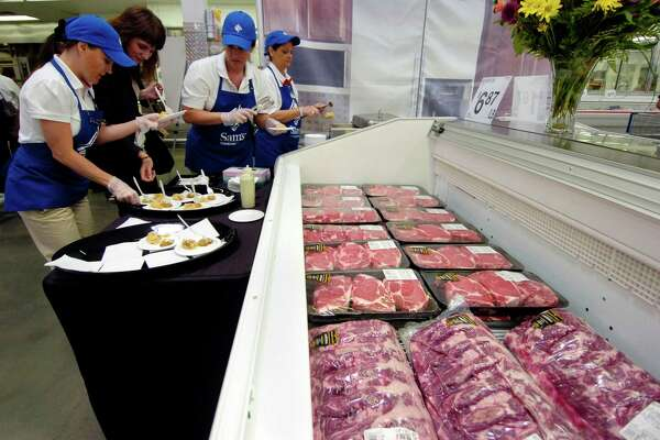 """Beef has gotten especially inexpensive. """"The severity of what we're seeing is completely unprecedented,"""" said Scott Mushkin, an analyst at Wolfe Research who has studied grocery prices around the country for more than ten years. """"We've never seen deflation this sharp."""""""