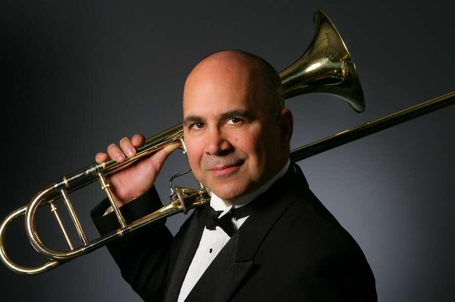 Trombonist Joseph Alessi will solo at the concert. Photo: Courtesy Joseph Alessi