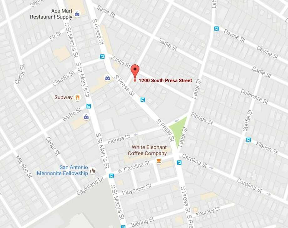James Ernest Wallace, 35, was found dead in the driver's seat of a 2016 Mitsubishi Outlander at about 1:30 a.m. in the 1200 block of South Presa Street. Photo: Google Maps