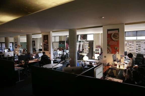 A work area at the offices of Sequence in San Francisco , California on Fri. Sept. 30, 2016. Sequence, a San Francisco design firm, won a U.S. Health and Human Services award for designing the best medical bill app that would cut down all the paperwork and help people better understand how much they have to pay in terms of co-pays, deductibles, out-of-network or uncovered charges even before they see their doctor.