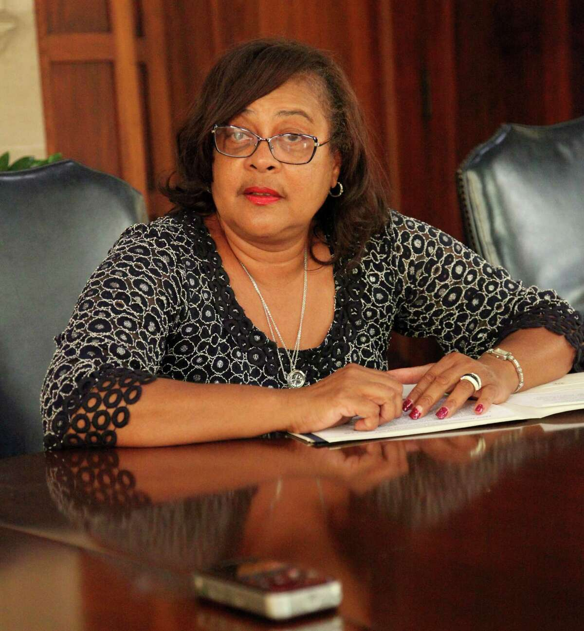 Rep. Laura Thompson won a special election to fill the unexpired term of Ruth Jones McClendon. A judge ruled Thursday Thompson's name can stay on the ballot for November's election after the Bexar County Democratic Party sued to have her removed.