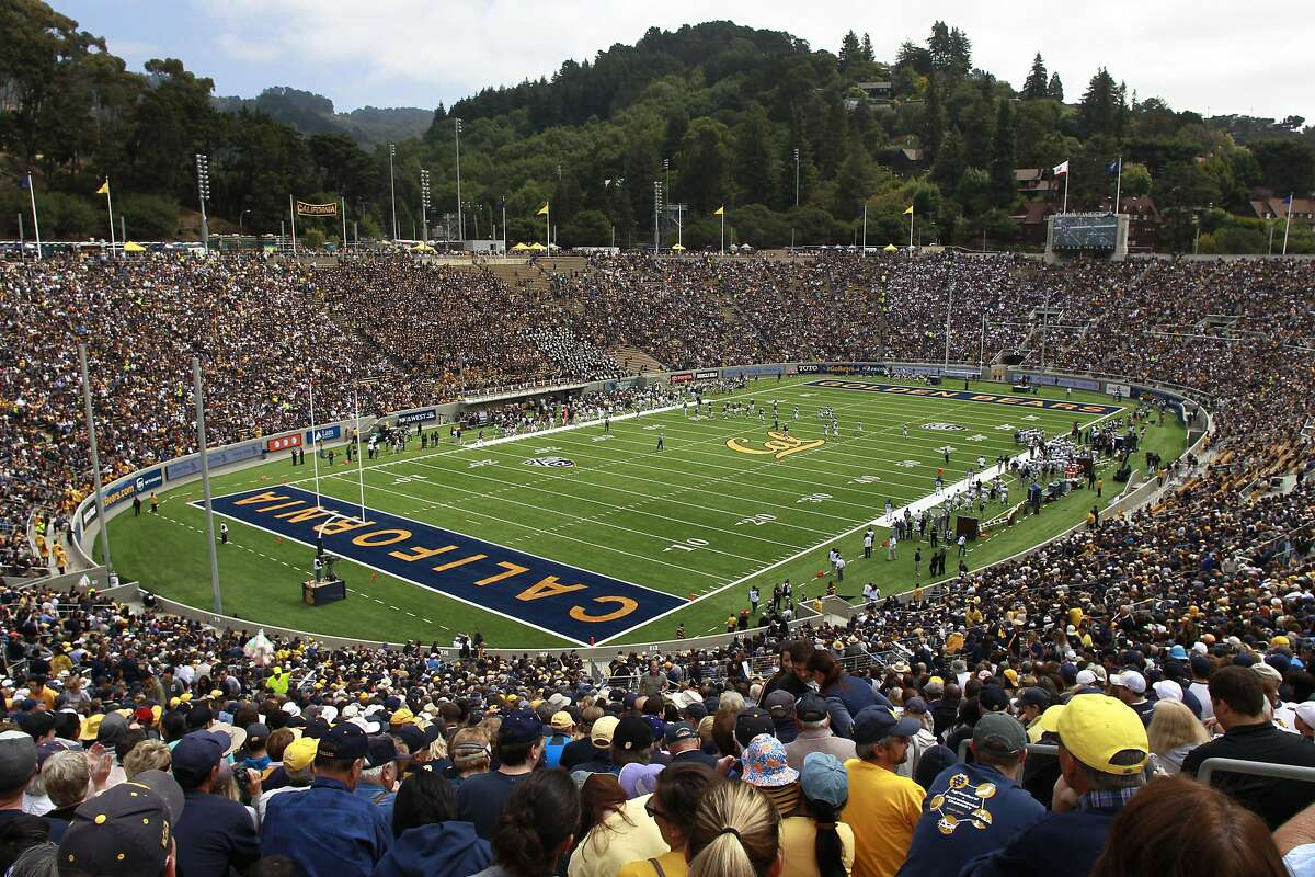 Fans crowd into the renovated Memorial Stadium for the Cal Bears football game against the Nevada Wolfpack in Berkeley, Calif. on Saturday, Sept. 1, 2012.