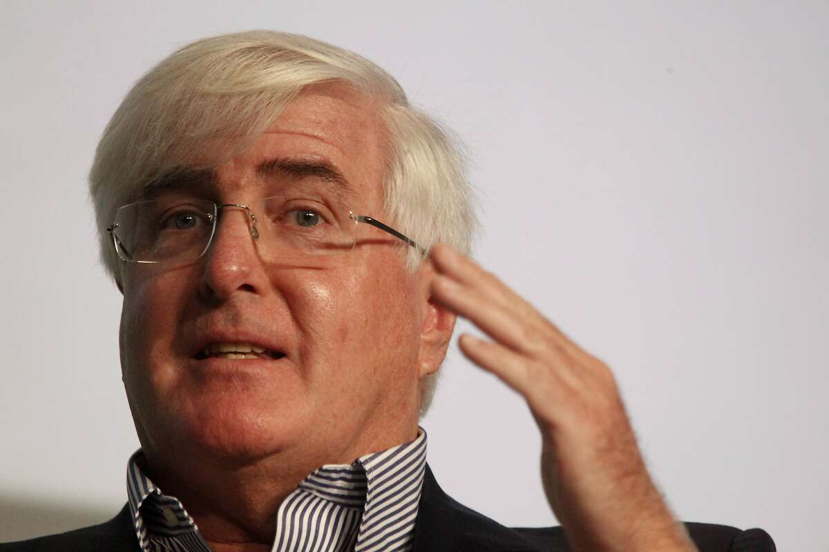 Ron Conway, SV Angel speaks during a Fireside Chat with Mayor Ed Lee (not shown) and Moderator Michael Arrington (not shown) of TechCrunch at TechCrunch Disrupt SF 2012 at The Concourse at San Francisco Design Center on Tuesday, September 11, 2012 in San Francisco, Calif.