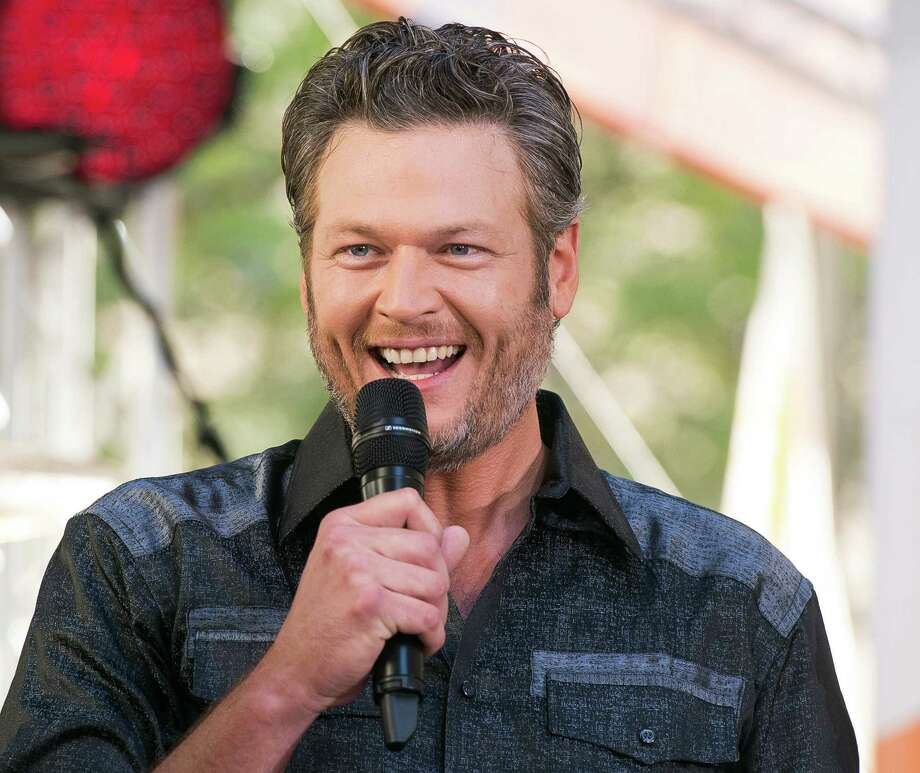 "FILE - In this Aug. 5, 2016 file photo, Blake Shelton performs on NBC's ""Today"" show at Rockefeller Plaza in New York. Shelton apologized on Twitter for offending people with his language, but denied being hateful after several old tweets referencing gays and non-English speakers surfaced online. Screenshots of years-old tweets posted on his Twitter account, which he controls, prompted criticism online that ""The Voice"" judge was sexist to women and stereotyping gay people and non-English speakers. (Photo by Charles Sykes/Invision/AP, File) ORG XMIT: NYET370 Photo: Charles Sykes / Invision"