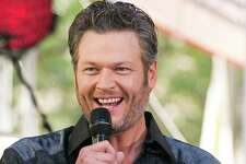 "FILE - In this Aug. 5, 2016 file photo, Blake Shelton performs on NBC's ""Today"" show at Rockefeller Plaza in New York. Shelton apologized on Twitter for offending people with his language, but denied being hateful after several old tweets referencing gays and non-English speakers surfaced online. Screenshots of years-old tweets posted on his Twitter account, which he controls, prompted criticism online that ?""The Voice?"" judge was sexist to women and stereotyping gay people and non-English speakers. (Photo by Charles Sykes/Invision/AP, File) ORG XMIT: NYET370"