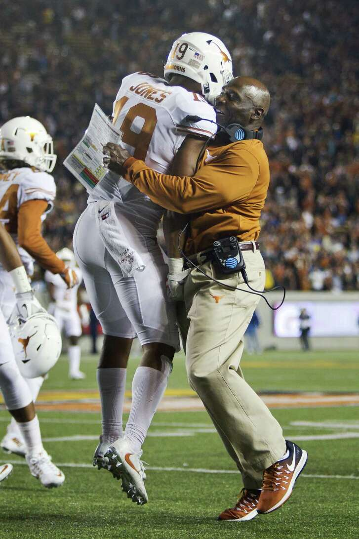 Getting a safety in the second quarter of what turned out to be a 50-43 loss at California was cause for celebration for Texas defensive back Brandon Jones and coach Charlie Strong, but the Longhorns' defense, which has given up almost 35 points a game, still has much to prove as it begins Big 12 play at Oklahoma State.