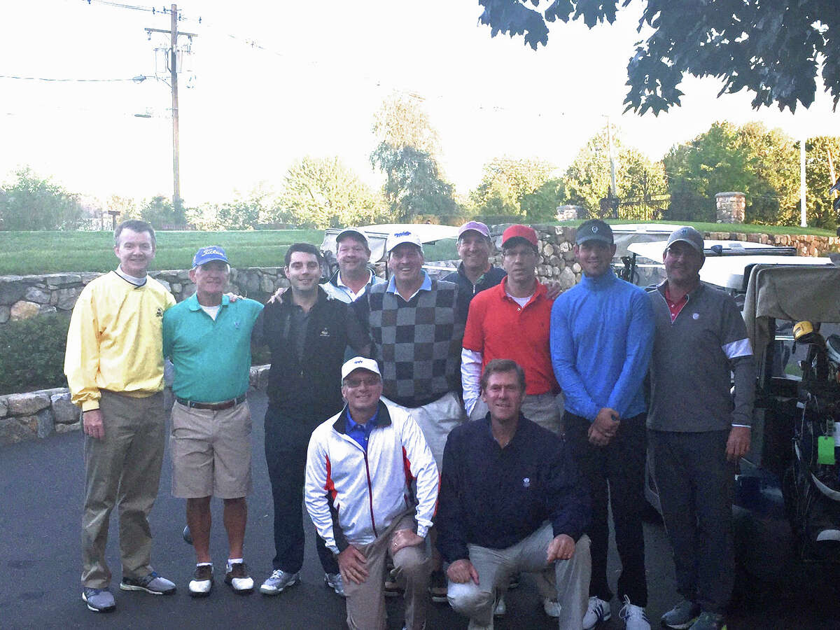 Golfers at the 17th annual Malta House Golf Marathon at Innis Arden Golf Club in Old Greenwich on Tuesday.