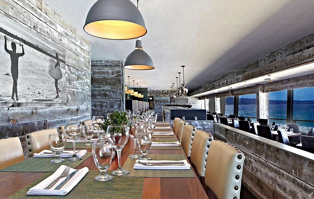 Cafe Beach, the renovated upper-floor restaurant at Monterey Tides, offers a surprisingly ambitious, locally sourced menu that attracts locals as well as visitors.